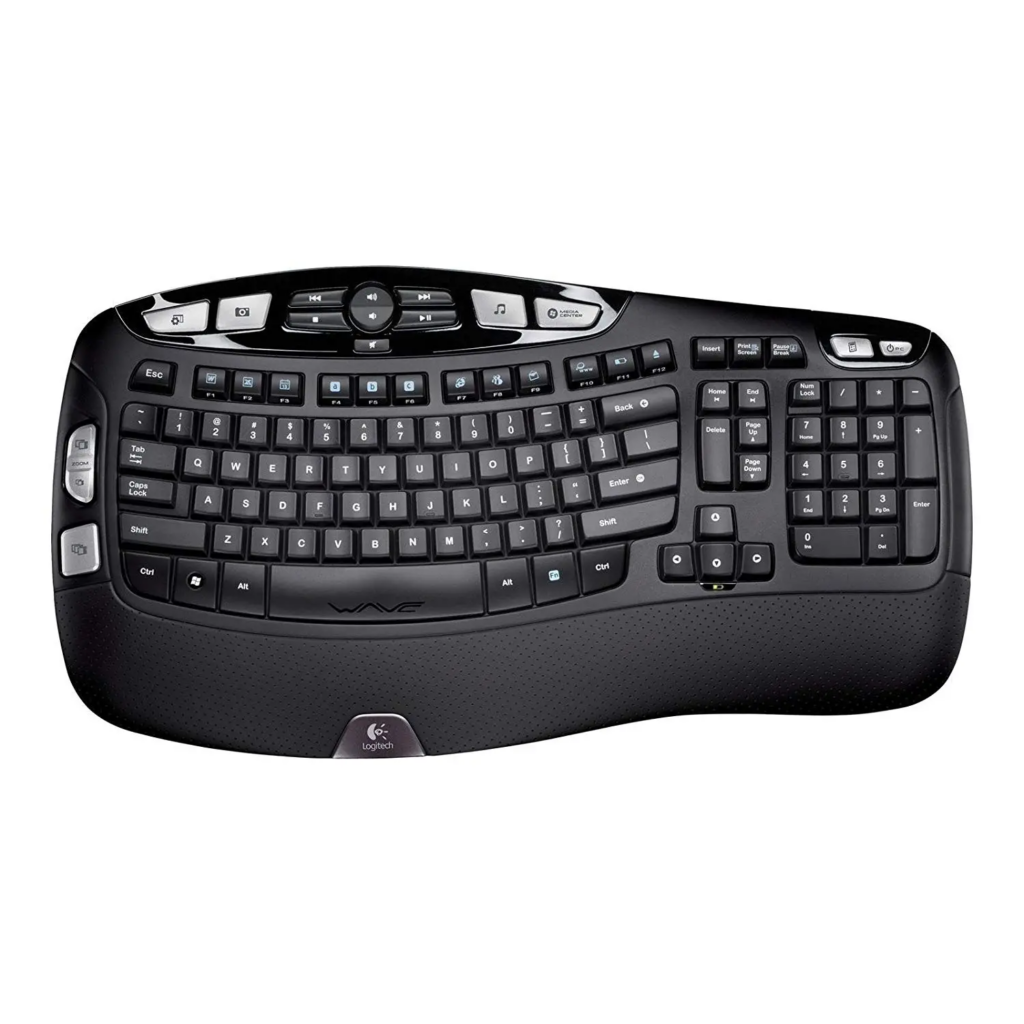 Logitech Wireless Ergonomic Keyboard K350