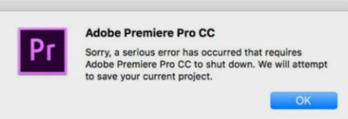 How to fix the problem: Adobe Premiere Pro keeps crashing.