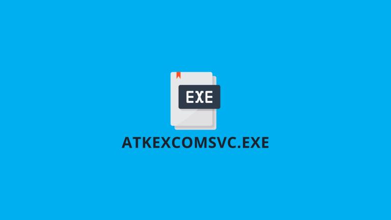 AtkexComsvc Exe