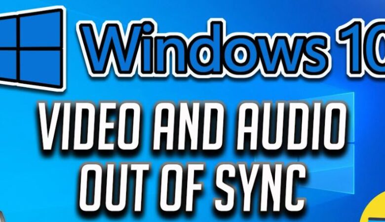 Troubleshooting: Audio and video are not synchronized.
