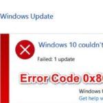 Error code 0x8024a10a has been fixed in Windows 10 Update