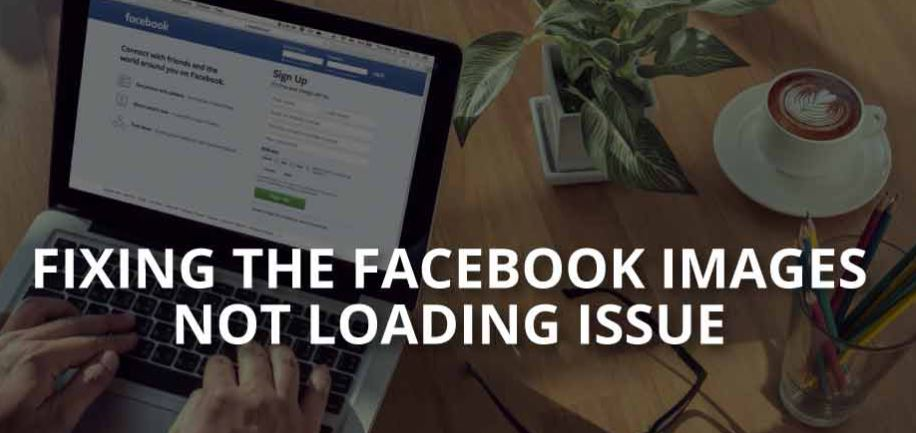 Resolve the Facebook pictures that aren't loading.