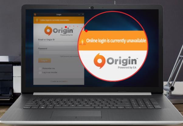 "Fixing the ""Origin Online Login Is Currently Unavailable"" error."