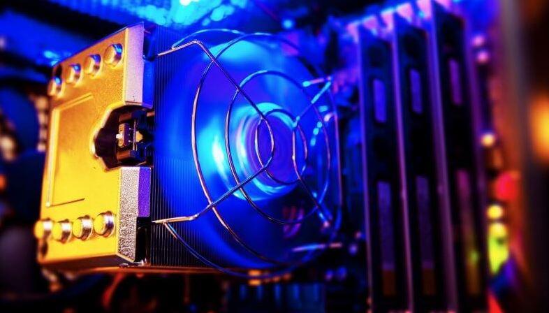 How a CPU fan error occurs