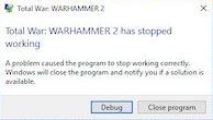 How do you fix Total War Warhammer 2 that keeps crashing on Windows?
