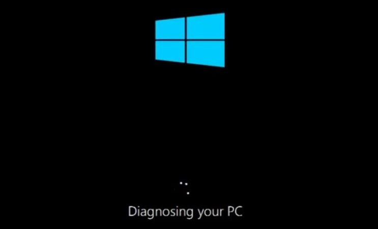 How to repair: Windows 10 stuck when diagnosing your PC