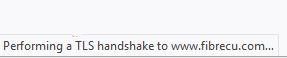 "Fixed ""Execute TLS handshake"" in Firefox"