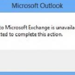 """Fixed the """"Connection with Microsoft Exchange not available, Outlook must be online or connected"""" bug"""
