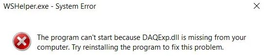 What is daqexp.dll and is it necessary to remove it?