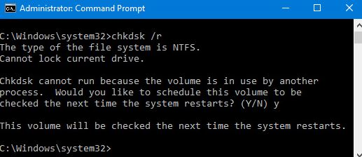 """What is the cause of the """"The Volume Bitmap is incorrect"""" error?"""