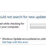 Windows 0xc8000247 update error fixed