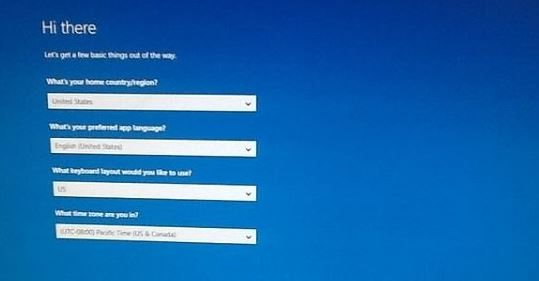 """How to repair: Windows 10 freezes on the """"Hi There"""" screen"""