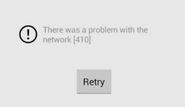 Troubleshooting: YouTube 410 error