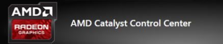 The missing AMD Catalyst Control Center has been fixed