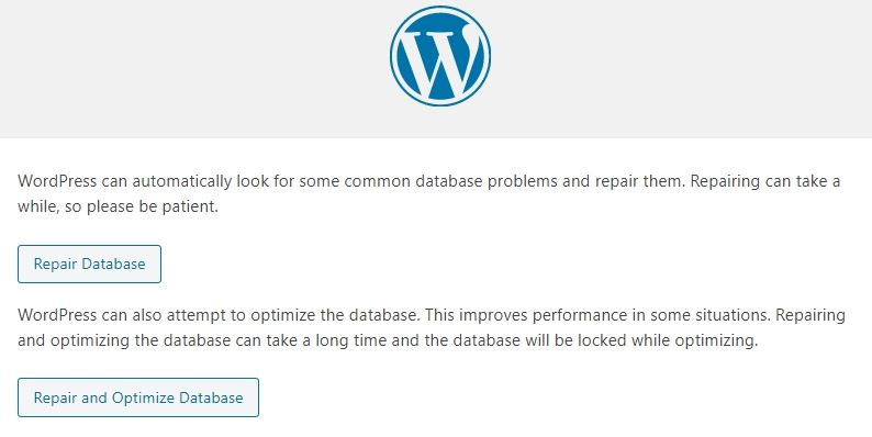 How to fix a WordPress database connection error