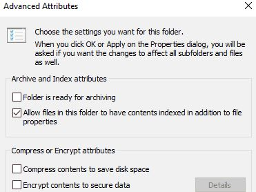 """How to solve the """"Error of applying attributes to a file"""" problem?"""