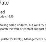 Correcting Intel Management Engine Interface 0x80240061 Error