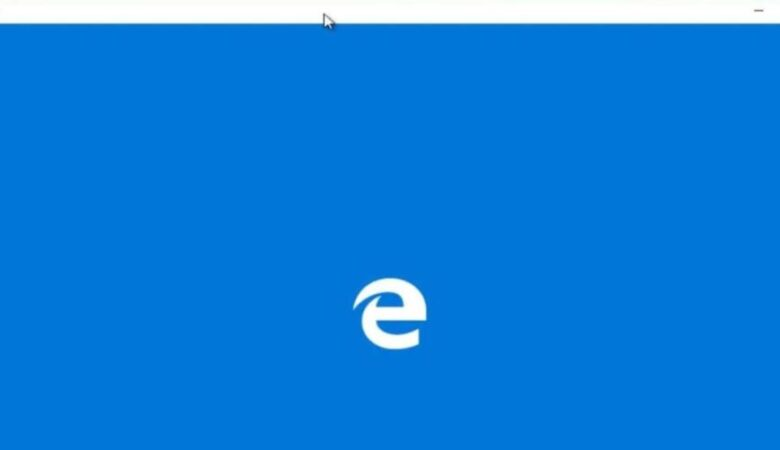 How to fix the fact that Microsoft Edge closes immediately after opening in Windows 10