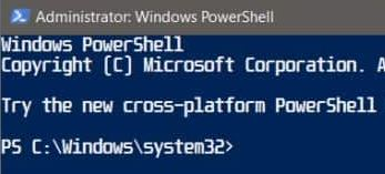 Fixed : Font not changing in the PowerShell