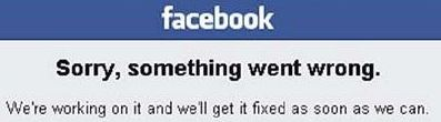 """The """"Sorry, something went wrong"""" Facebook login error has been fixed"""