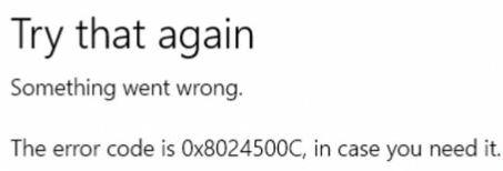To fix Windows Update error 0x8024500c