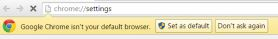 Fix: Chrome can't be set as default browser