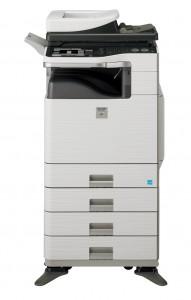 To troubleshoot a VK error code on a Sharp printer