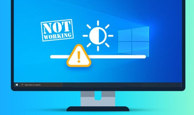 Solve the problem of Windows 10 brightness control not working
