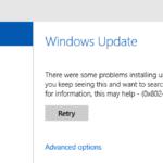 Fixed Windows Defender update bug 0x80240016