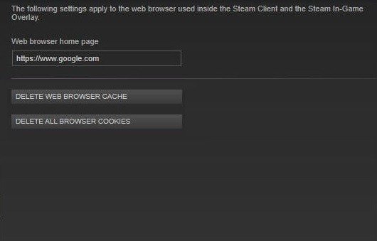 Here's how to fix the Steam browser not working in the game