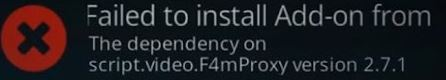 """How to fix the """"Failed to install dependency"""" error in Kodi"""