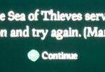 Marblebeard error code in Sea of Thieves
