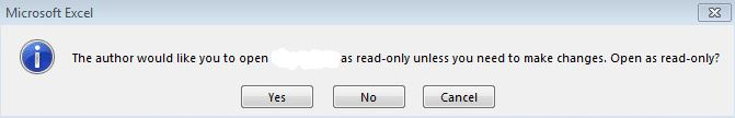 How to remove read-only protection from an Excel document