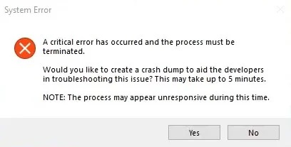 How to fix: Critical System Error in Valorant