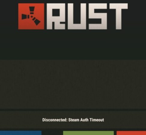 Fixing the Rust error: `Steam Auth Timeout`