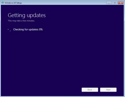 Fixed: Windows 10 Setup Getting Stuck when Checking for Updates
